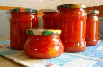 Зимняя заготовка из болгарского перца 8