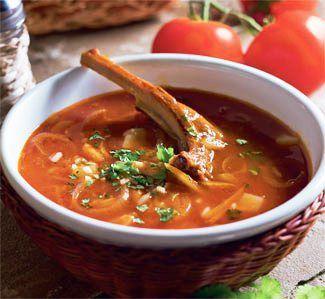рецепт супа харчо поваренок