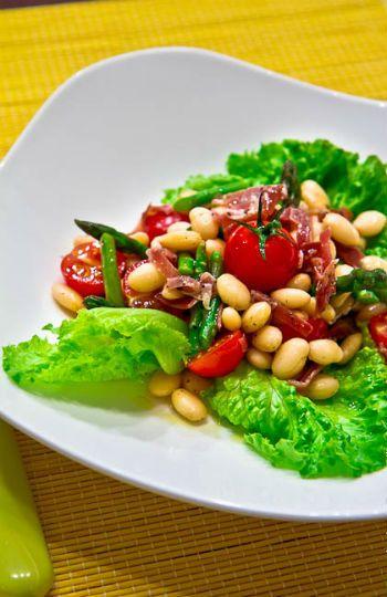 рецепты салаты с соевым мясом и овощами