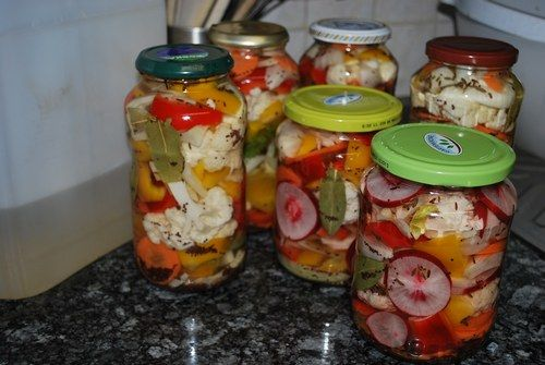 Овощное ассорти на зиму фото рецепт