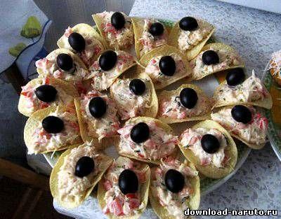 Вкусные закуски к празднику