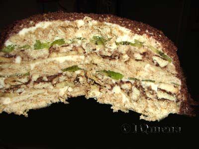 Бисквитный торт с киви и бананом рецепт с фото пошагово и 63