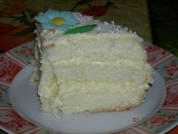 Бисквитный торт рецепт в домашних условиях с заварным кремом 41