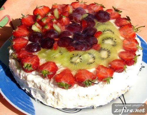 бисквит с виноградом рецепт с фото