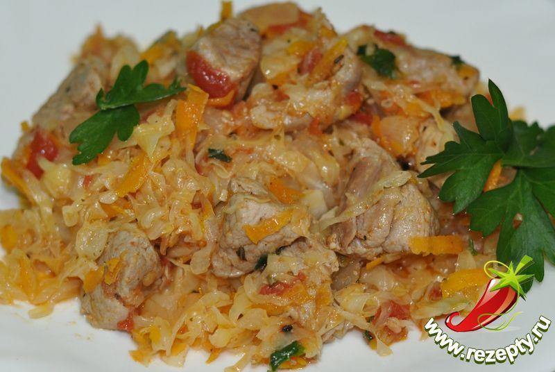 Капуста картошка мясо блюдо как называется