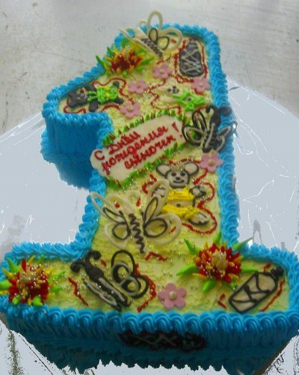 Детский торт на 1 год Развиваем детей сами - Зоя.  Рецепт торта ребенку на 1 год ДЕТСКИЕ РЕЦЕПТЫ, БЛЮДА...