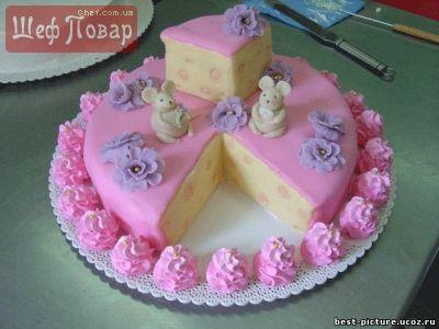 детский рецепт как приготовить торт