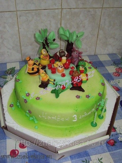 детский торт из мастики рецепт