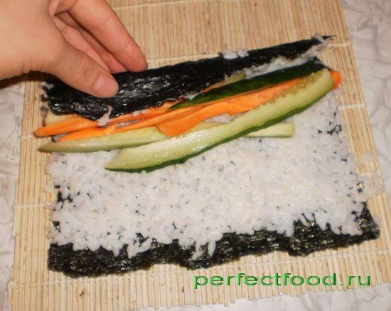 Суши в домашних условиях пошаговый рецепт фото