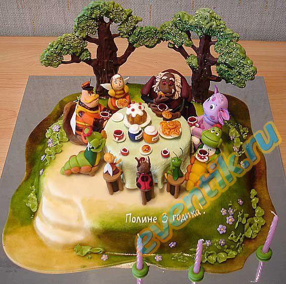 Рецепт торта с мастикой с фото своими руками
