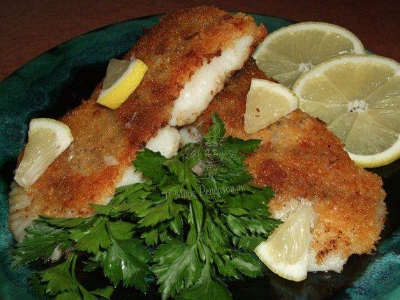 Рецепт рыбы в панировочных сухарях фото
