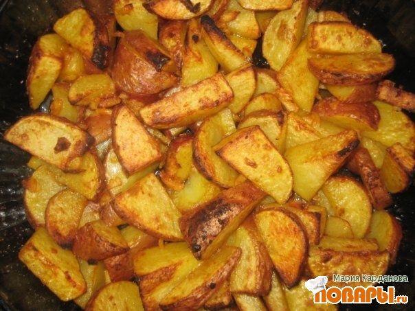 картошка по деревенски в мультиварке рецепты с фото