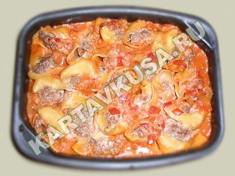 Рецепты фаршированные макароны в мультиварке с фото