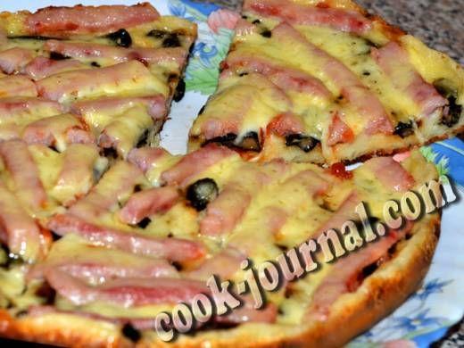 рецепт пицца на молоке