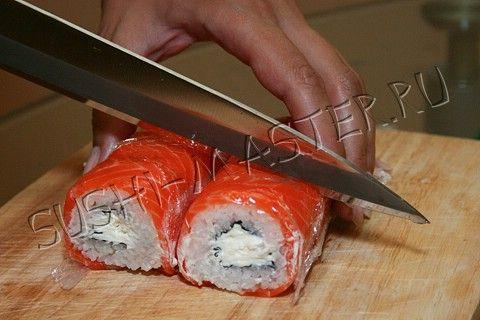 Суши как приготовить филадельфию в домашних условиях рецепт пошагово