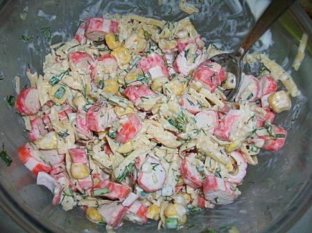простые салаты рецепты с фото на скорую руку