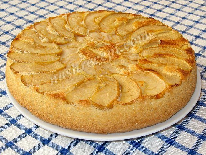 Рецепт пирог с яблоками шарлотка рецепт пошаговый