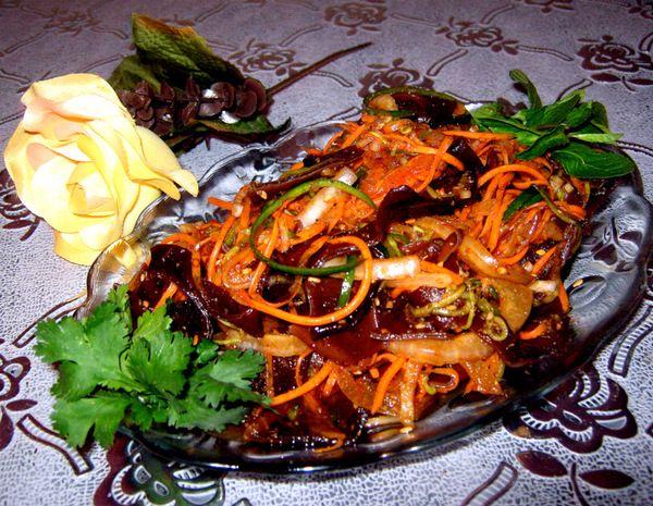 рецепты салатов и закусок из грибов
