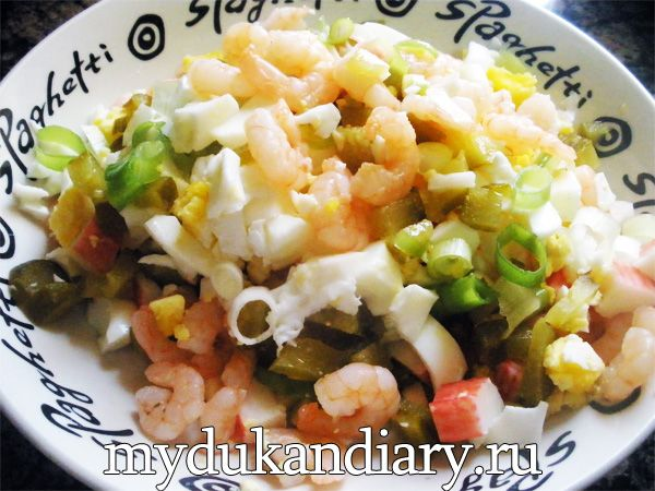 Рецепт салатов по дюкану на атаке