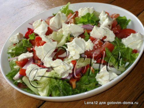 рецепты салатов с сыром филадельфия