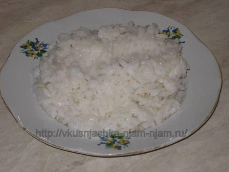 Рецепт рисовой каши на воде фото пошагово