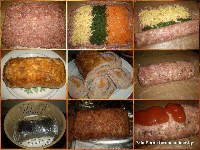 рулет мясной в мультиварке рецепты с фото