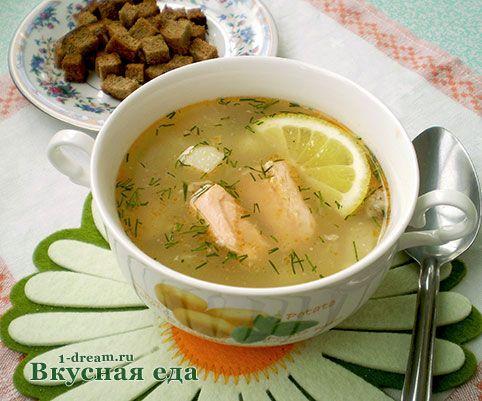 Супа из горбуши консервированной