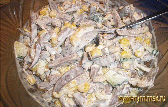 салат из языка свиного рецепты с фото
