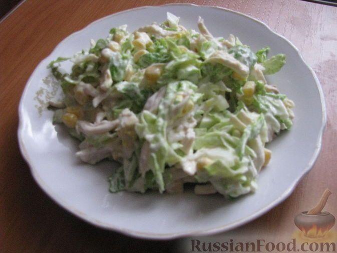 рецепт салат морковка с капустой