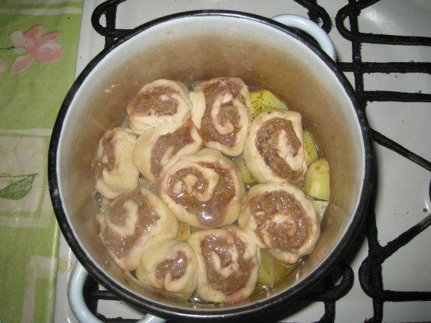 Фото рецепт картошка с штрудели