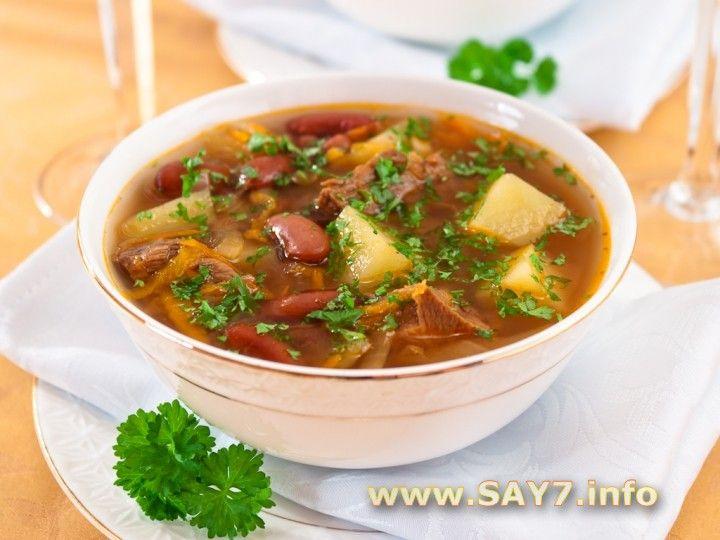 Супы с фасолью рецепты