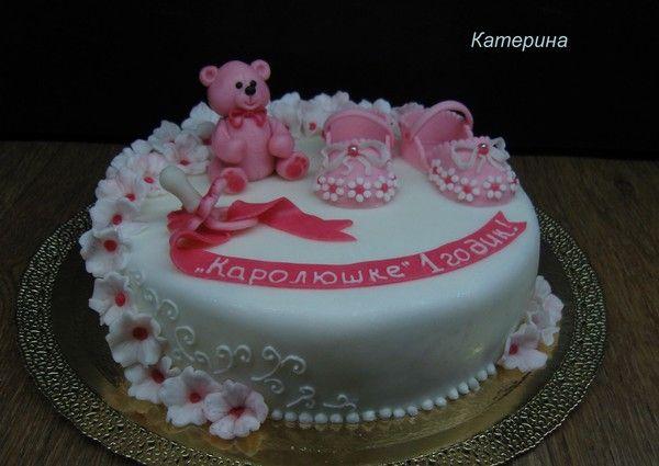 Торт на 1 годик мальчику своими руками