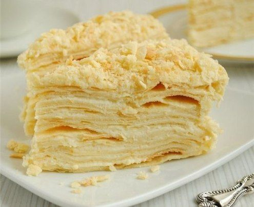 торт наполеон+рецепт с фото
