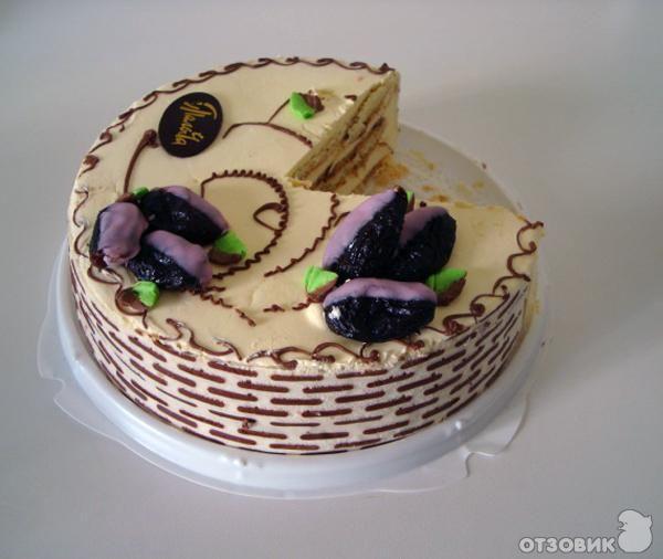торт с черносливом как у палыча рецепт