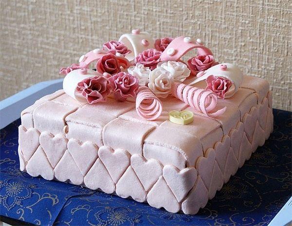 Торт с марципаном своими руками
