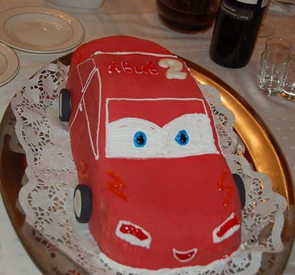 Торт в форме машины своими руками фото без мастики