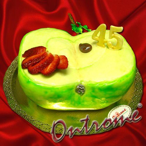 Торт дизайн яблоко фото
