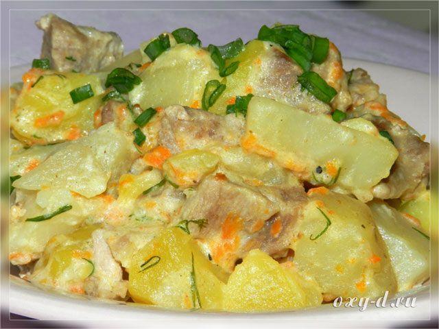 капуста с картошкой тушеные в мультиварке рецепты
