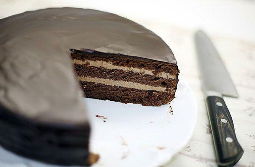 Рецепт торта праги видео