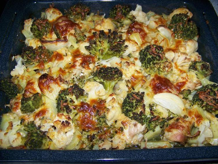 Запеканка и курицей и овощами рецепт