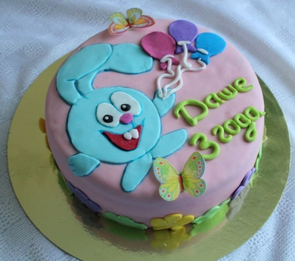 Как украсить торт на день рождения ребенка своими руками