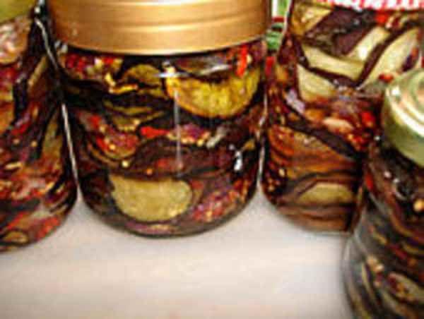 Заготовки на зиму-баклажаны под грибы