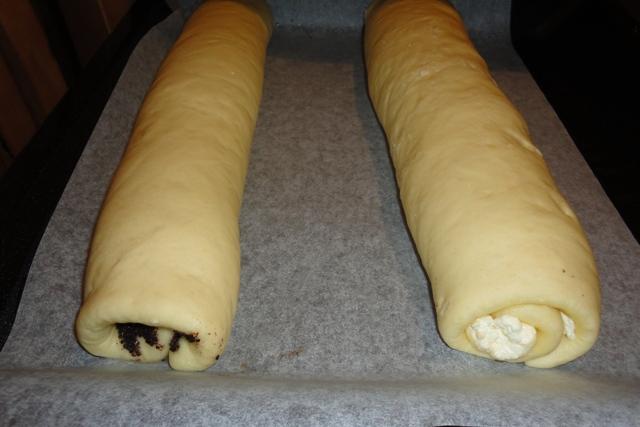 Рулетики на кефире в духовке рецепт