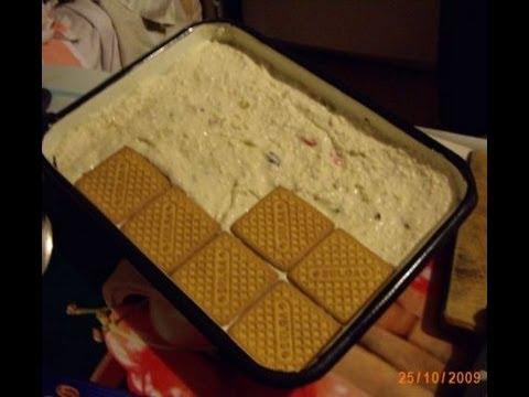 Рецепт торта с печенья наполеон